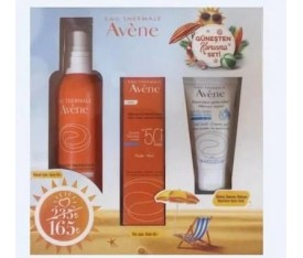 Avene Güneş Seti ( Fluide SPF50 + Spray 50 + After Sun )